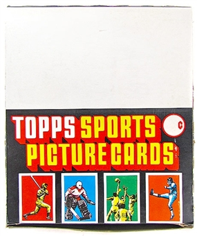 1987 Topps Baseball Rack Box
