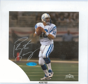 Peyton Manning Autographed Indianapolis Colts 8x8 Photo (UDA)