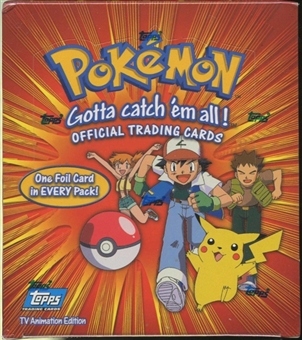 Pokemon TV Edition Card Box (1999 Topps)