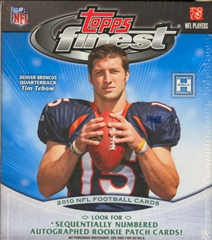 2010 Topps Finest Football Hobby Mini-Box