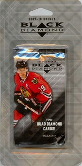 2009/10 Upper Deck Black Diamond Hockey 3 Pack Blister (Lot of 12)