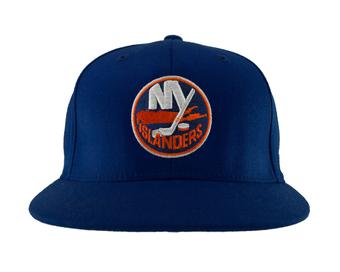 New York Islanders Reebok Team Flat Brim Flex Fit Hat (Adult L/XL)
