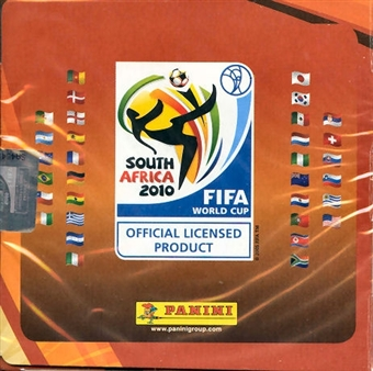 2010 Panini FIFA World Cup Soccer Sticker Pack