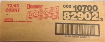 1991 Donruss Series 2 Baseball Rack Case