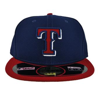 Texas Rangers New Era Blue Diamond Era 59Fifty Fitted Hat (7 3/4)