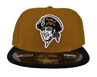 Pittsburgh Pirates New Era Gold Diamond Era 59Fifty Fitted Hat (7 1/2)