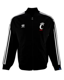 Cincinnati Bearcats Adidas Legacy Black Full Zip Track Jacket (Adult M)