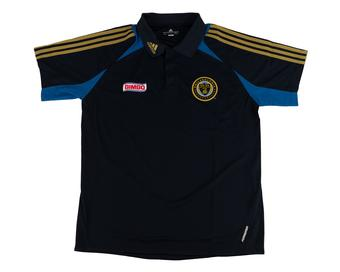 Philadelphia Union Adidas Navy Climalite Performance Sideline Polo (Adult L)