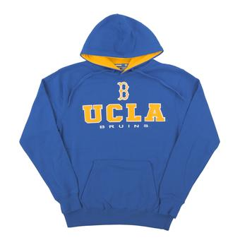 UCLA Bruins Colosseum Blue Zone II Dual Blend Fleece Hoodie (Adult Medium)