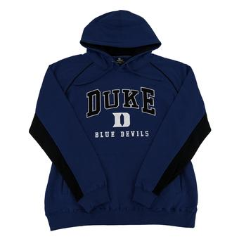 Duke Blue Devils Colosseum Blue Crest Fleece Hoodie (Adult XXL)