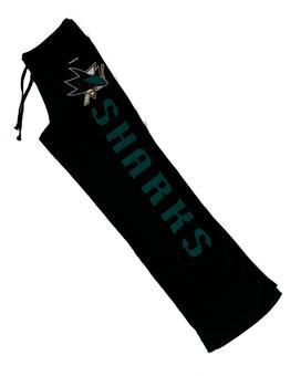 San Jose Sharks Reebok Black Womens Fleece Sweatpants (Womens L)