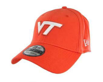 Virginia Tech Hokies New Era 39Thirty Team Classic Orange Flex Fit Hat (Adult M/L)