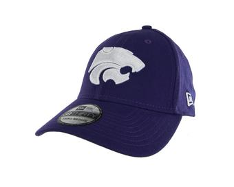 Kansas State Wildcats New Era 39Thirty Team Classic Purple Flex Fit Hat (Adult S/M)