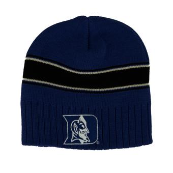 Duke Blue Devils Adidas Blue Cuffless Knit Hat Beanie (Youth One Size)