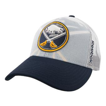 Buffalo Sabres Reebok Navy Center Ice Structured Adjustable Hat (Adult One Size)