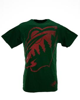 Minnesota Wild Reebok Green The New SLD Tee Shirt (Adult M)