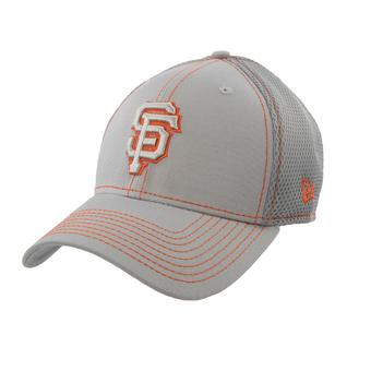 San Francisco Giants New Era 39Thirty Gray Neo Flex Fit Hat (Adult S/M)