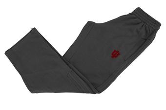 Indiana Hoosiers Adidas Gray Supreme Climawarm Fleece Sweatpants (Adult L)
