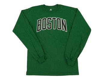 Boston Celtics Adidas Green Long Sleeve Tee Shirt (Adult XL)