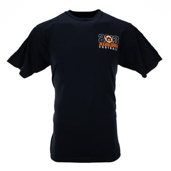Auburn Tigers Adidas Navy The Go To Tee Shirt (Adult S)