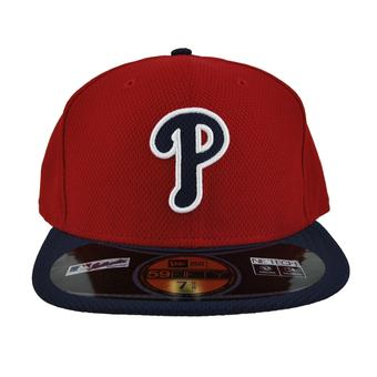 Philadelphia Phillies New Era Red Diamond Era 59Fifty Fitted Hat (7 3/8)