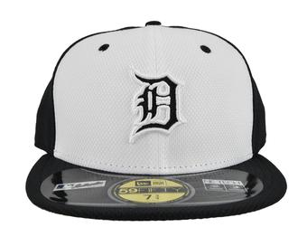Detroit Tigers New Era Navy & White Diamond Era 59Fifty Fitted Hat (7 1/8)