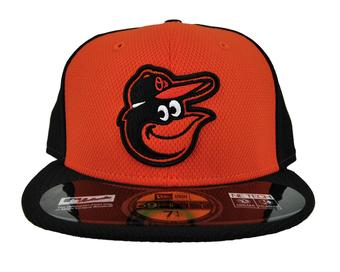 Baltimore Orioles New Era Black & Orange Diamond Era 59Fifty Fitted Hat (7 5/8)