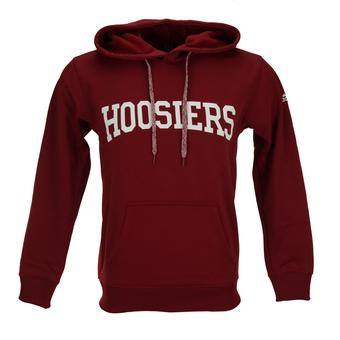 Indiana Hoosiers Adidas Red Climawarm Performance Tech Fleece Hoodie