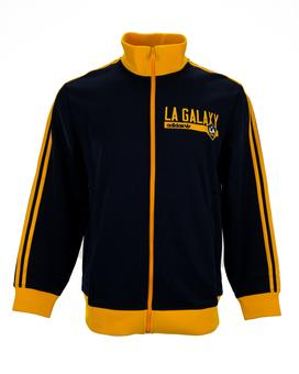 Los Angeles Galaxy Adidas Navy Colony Full Zip Track Jacket