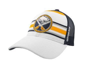 Buffalo Sabres Reebok Navy & White Structured Adjustable Hat (Adult One Size)