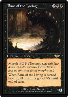 Magic the Gathering Legions Single Bane of the Living Foil