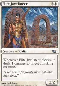 Magic the Gathering 8th Edition Single Elite Javelineer Foil