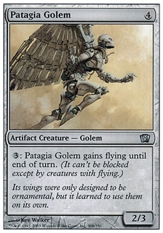 Magic the Gathering 8th Edition Single Patagia Golem Foil