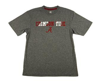 Alabama Crimson Tide Colosseum Gray Bearcat Performance Tee (Adult L)
