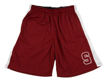 Stanford Cardinal Colosseum Maroon Phantom Shorts (Adult L)