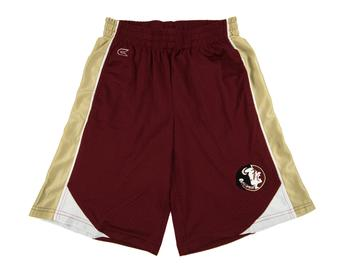 Florida State Seminoles Colosseum Maroon Vector Mesh Shorts (Adult XXL)