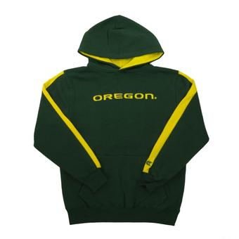 Oregon Ducks Colosseum Forest Green Youth Rally Pullover Hoodie