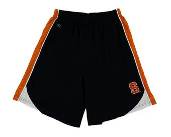 Syracuse Orange Colosseum Navy & Orange Vector Mesh Shorts (Adult M)