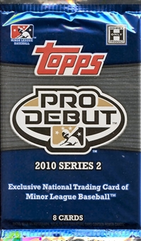 2010 Topps Pro Debut Series 2 Baseball Hobby Pack