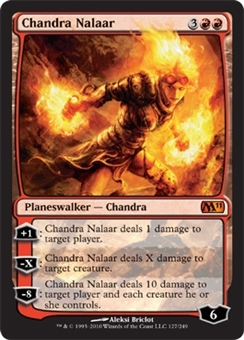 Magic the Gathering 2011 Single Chandra Nalaar UNPLAYED (NM/MT)