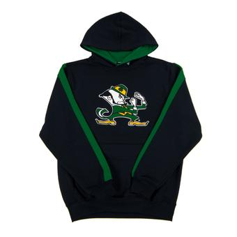 Notre Dame Fighting Irish Colosseum Navy Youth Rally Pullover Hoodie (Youth S)