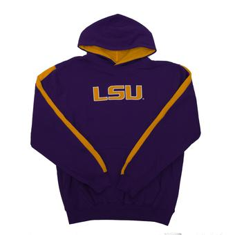 LSU Tigers Colosseum Purple Youth Rally Pullover Hoodie (Youth L)