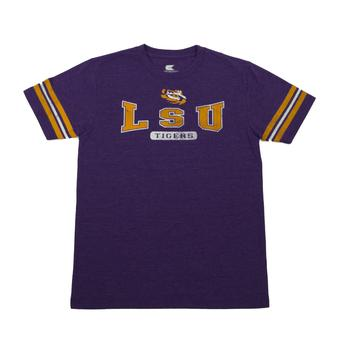 LSU Tigers Colosseum Purple Youth Thunderbird Tee Shirt (Youth S)