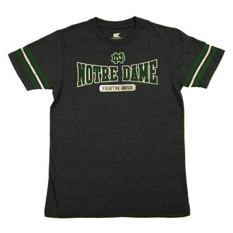 Notre Dame Fighting Irish Colosseum Navy Youth Thunderbird Tee Shirt (Youth XL)