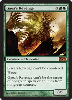 Magic the Gathering 2011 Single Gaea's Revenge Foil