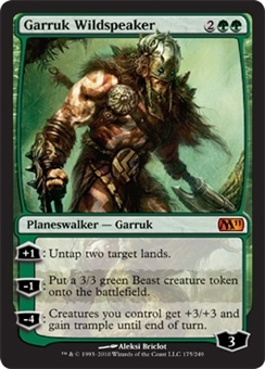 Magic the Gathering 2011 Single Garruk Wildspeaker Foil