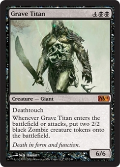 Magic the Gathering 2011 Single Grave Titan Foil