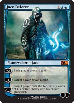 Magic the Gathering 2011 Single Jace Beleren - SLIGHT PLAY (SP)