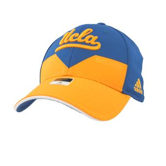 UCLA Bruins Adidas Blue & Yellow Structured Flex Fit Hat (Adult S/M)