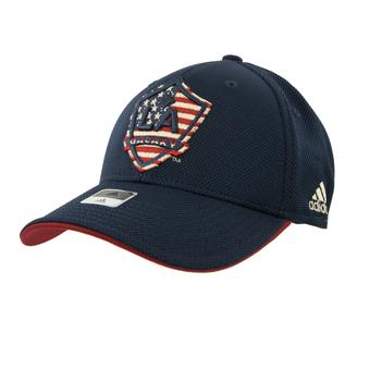 Los Angeles Galaxy Adidas Navy Structured Flex Fit Hat (Adult S/M)